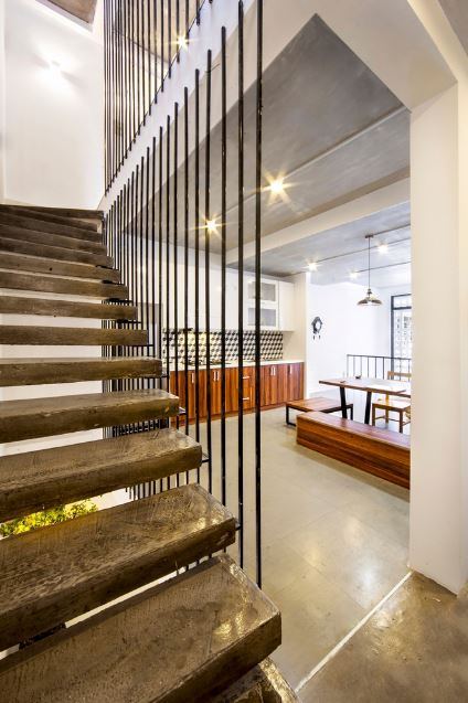 Moderno diseño de escaleras