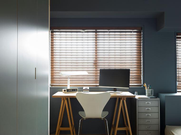 Colorido espacio del escritorio