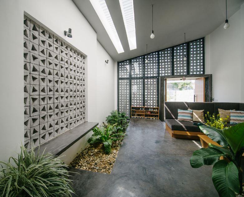 Modernos interiores con claravoyas