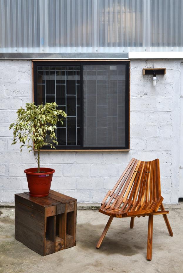 Diseño muebles rústicos de madera