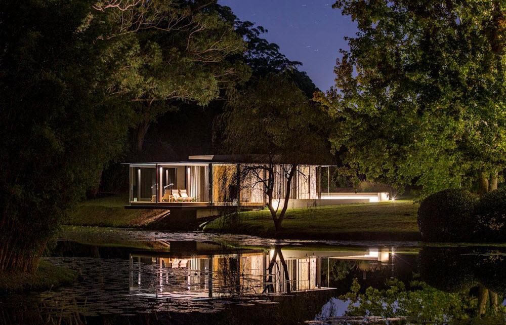 Diseño de casa de campo pequeña | Planos de Arquitectura