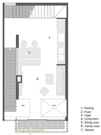Segundo nivel de la casa pequeña