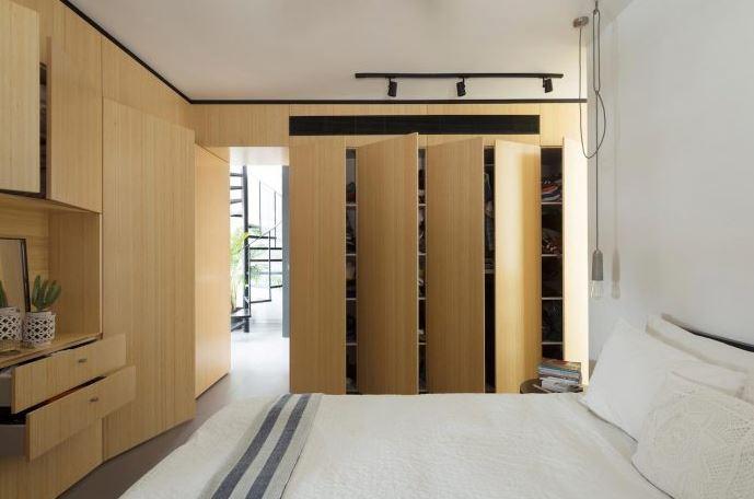 Amplio y moderno dormitorio