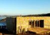 Casa de playa en pendiente