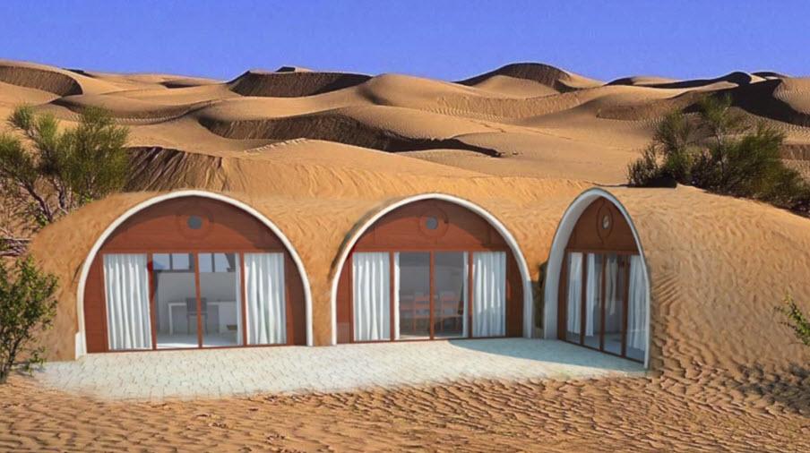 Dise os de casas ecol gicas prefabricadas se integran a la for Casa prefabricadas ecologicas