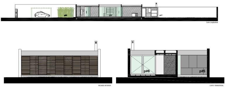Dise o de casa moderna de un piso y tres dormitorios for Como hacer un plano de un piso