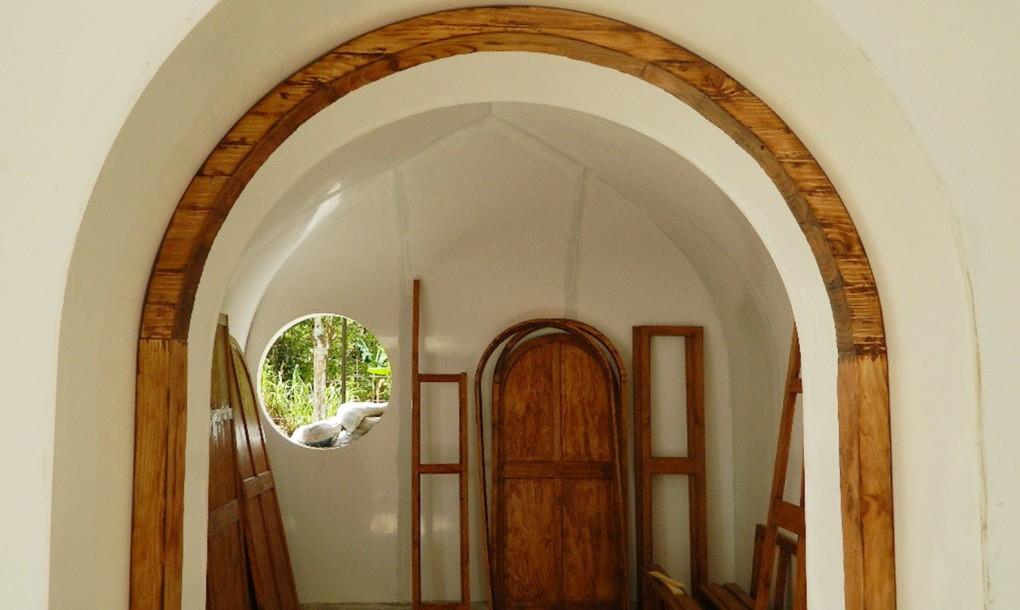 Detalles de madera para casas prefabricadas