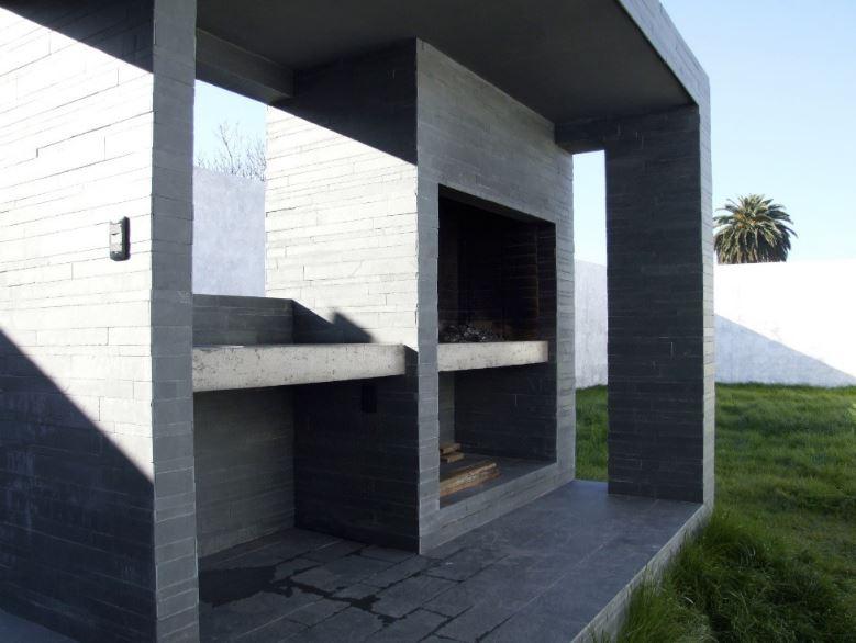 Diseño de area de parrilla