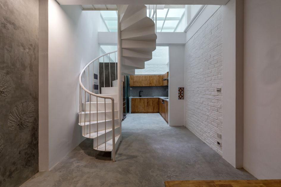 diseo de escaleras caracol ahorra espacio - Escaleras De Caracol