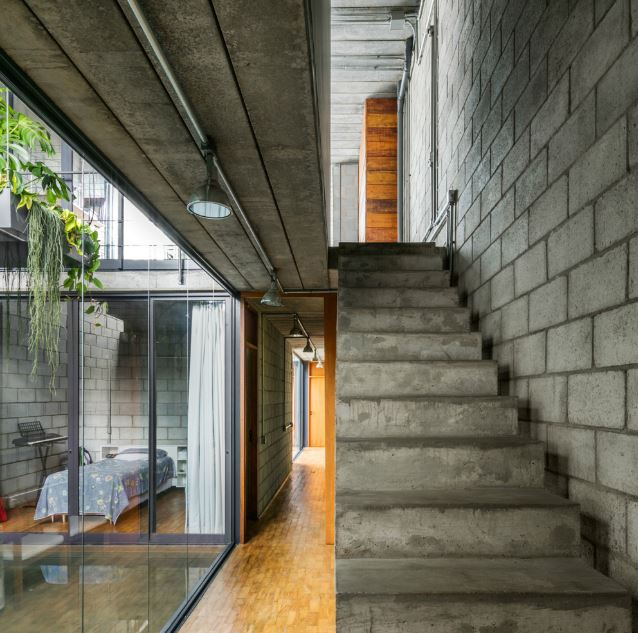 Dise o de escaleras en concreto planos de arquitectura for Escaleras exteriores para casas de dos pisos
