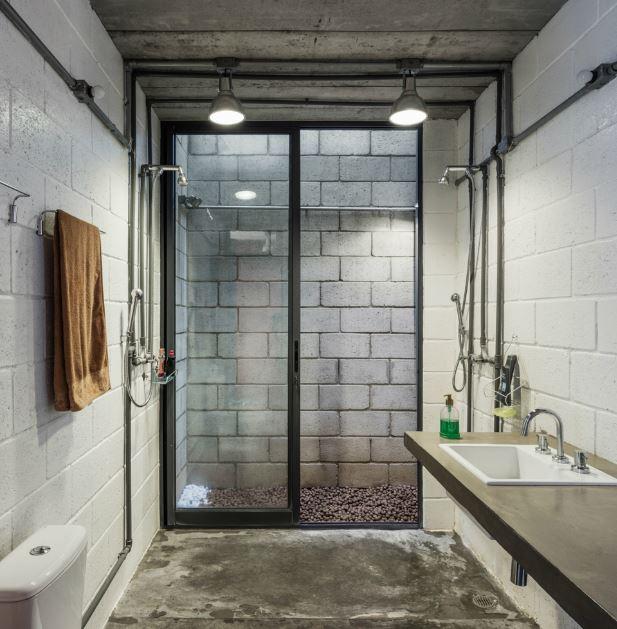 Dise o casa econ mica de dos pisos planos de arquitectura for Disenos de banos modernos 2016