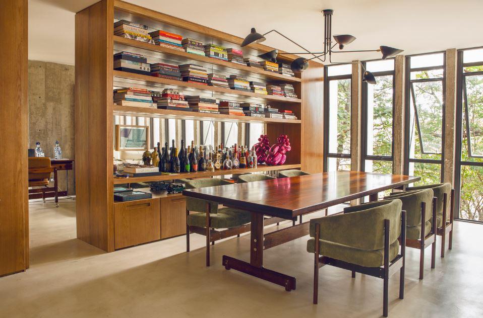 Diseño de moderno departamento de 120 metros cuadrados, presenta ...