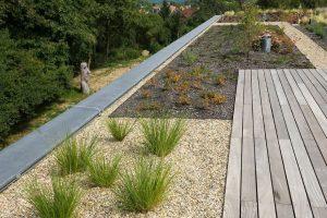 Diseño de techo verde