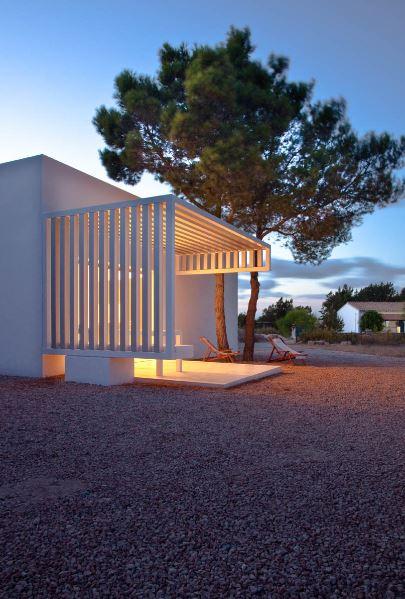 Casa de campo con terraza