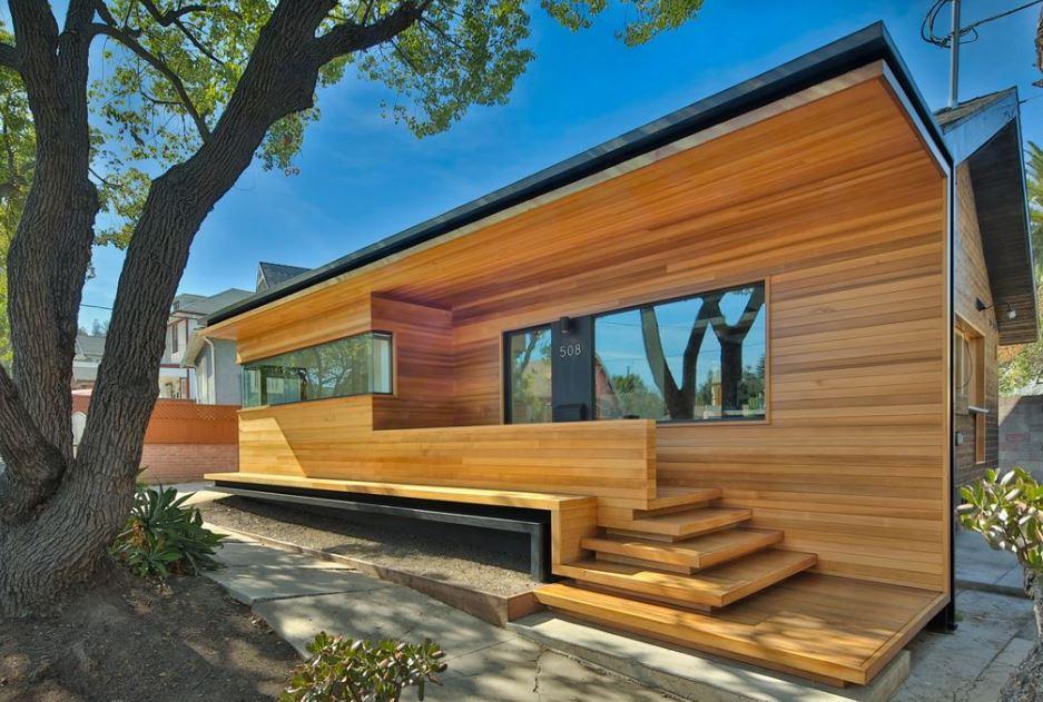Casa de un piso y tres dormitorios planos de arquitectura - Casas estructura de madera ...