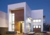 Hermosa casa de pisos con combinacion de materiales