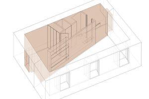 Diseño volumetrico del interior