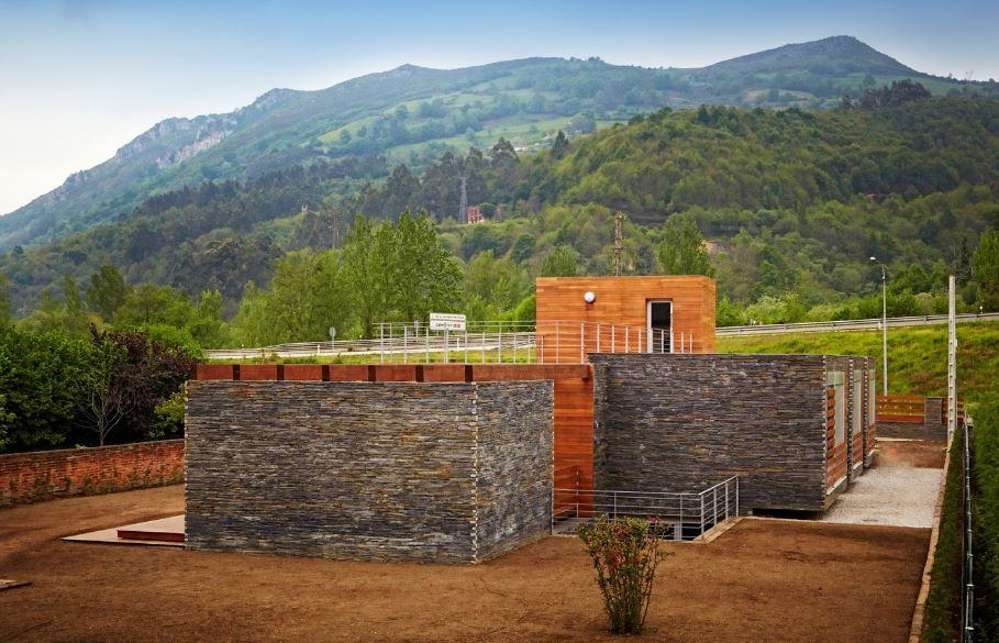 Moderna casa sostenible