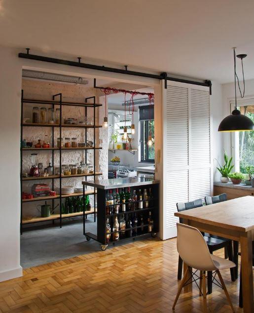 Dise o de departamento de 106 metros cuadrados presenta for Disenos de cocinas comedor modernas