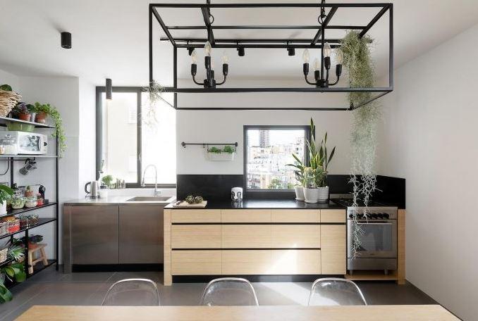 Moderna cocina comedor