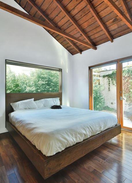 Casa de un piso y tres dormitorios planos de arquitectura - Dormitorios de madera ...