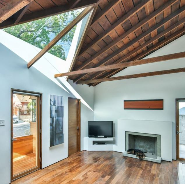 Casa de un piso y tres dormitorios planos de arquitectura for Casa clasica moderna interiores