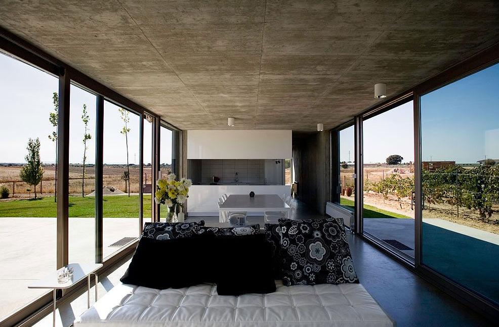 Modernos y amplios interiores