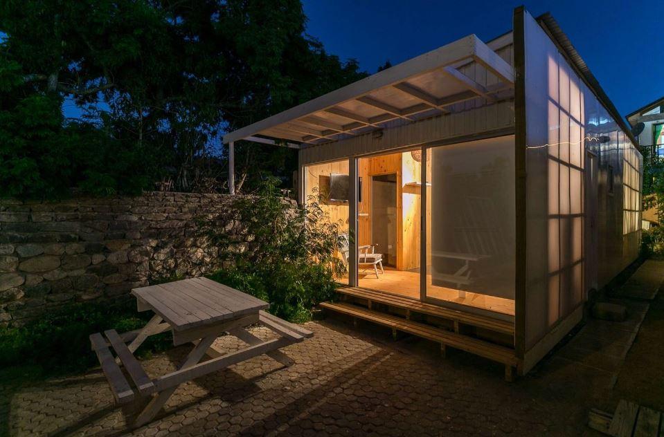 Dise O De Peque A Casa Prefabricada De Un Piso Planos De