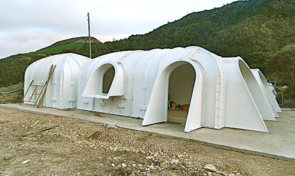 Proceso constructivo de casa prefabricada