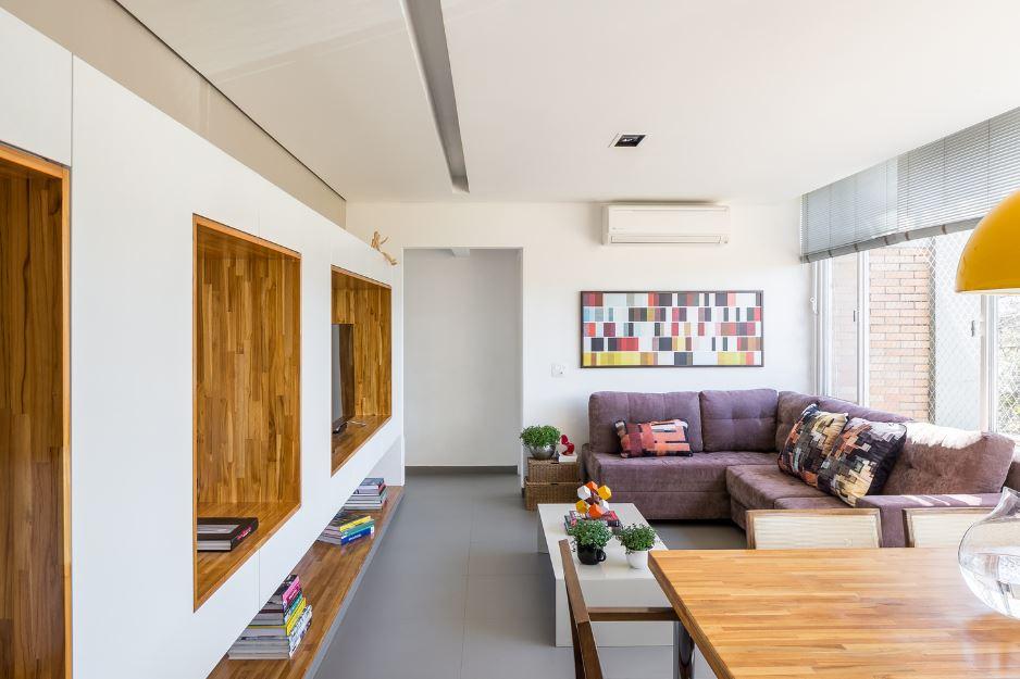 Amplia y moderna sala