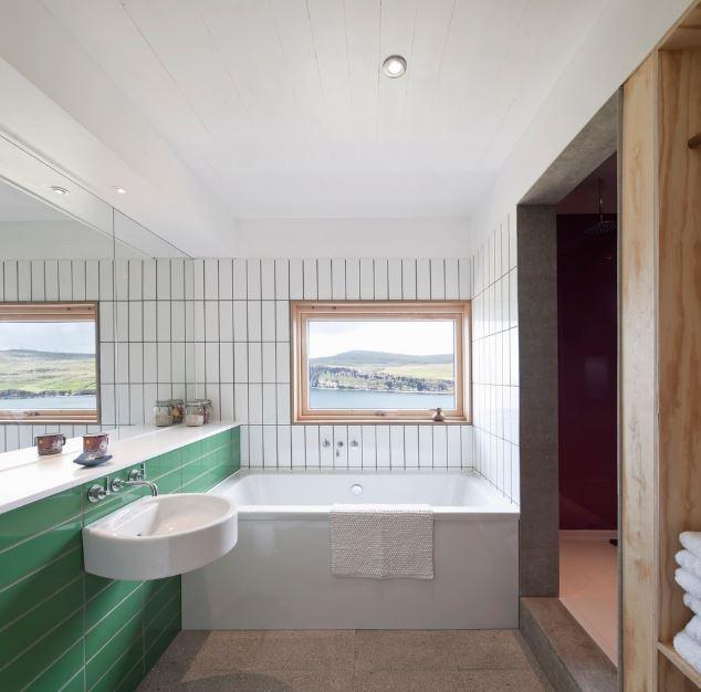 Amplio cuarto de baño – Planos de Arquitectura