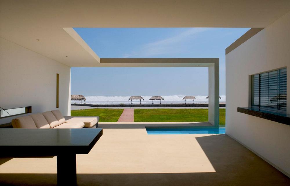 Amplios y confortables ambientes interiores