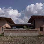 Casa de campo de dos pisos