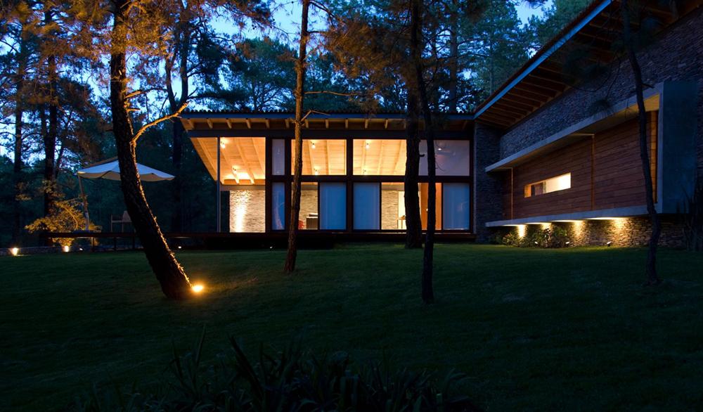 Casa de campo de un piso planos de arquitectura for Planos de casas de campo de un piso