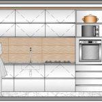 Corte de la cocina