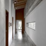 Diseño amplios y luminosos pasillos