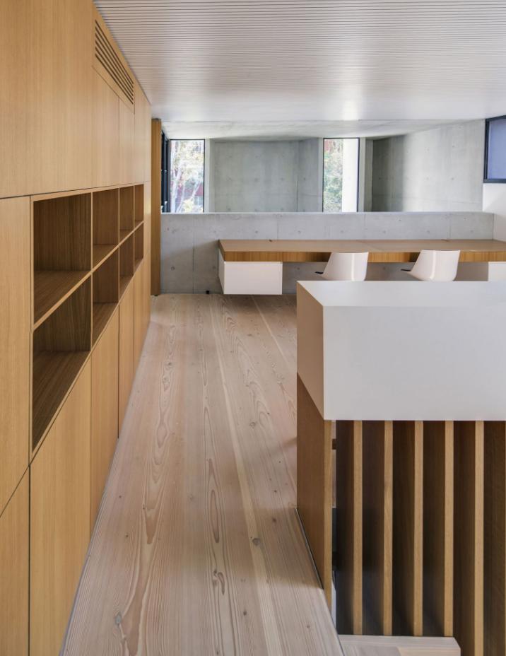 Diseño de amplio y moderno estudio