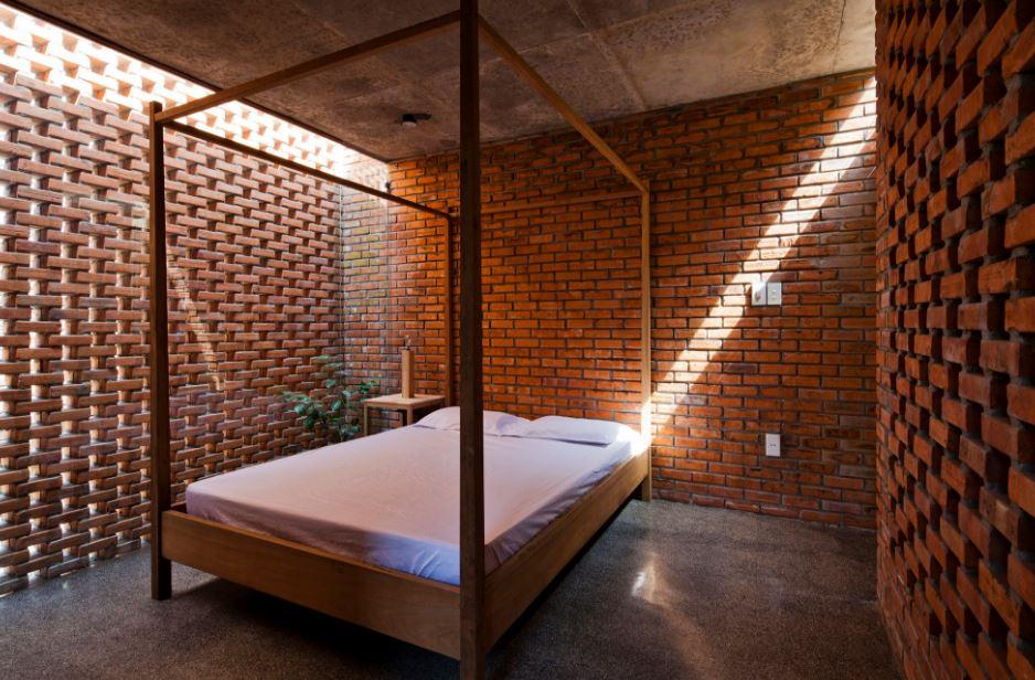Dise o de celosia en interiores planos de arquitectura for Celosias para interiores