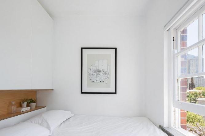Peque os departamentos con dise o minimalista presenta - Diseno de interiores dormitorios pequenos ...