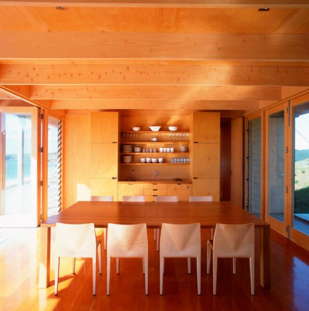 Diseño interior de pequeña cocina - comedor