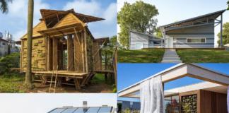 Modernas casa con diseño sustentable