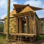 Moderna casa de bambu