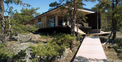 Moderna casa de campo