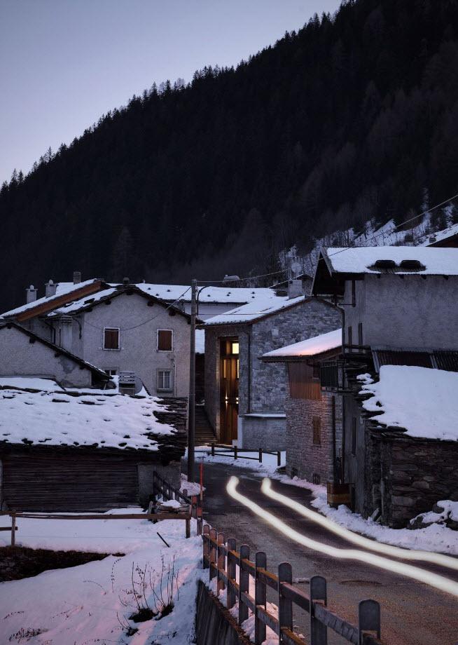Moderna casa de montaña
