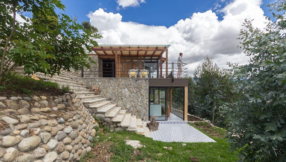 Planos de arquitectura ideas de casas y departamentos - Exteriores de casas de campo ...