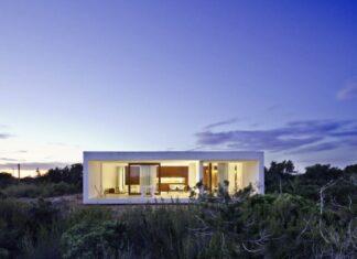 Moderna casa de un piso
