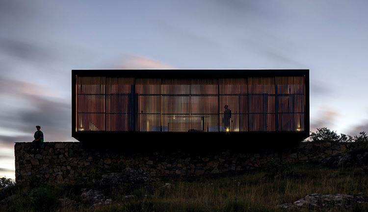 Moderna casa refugio
