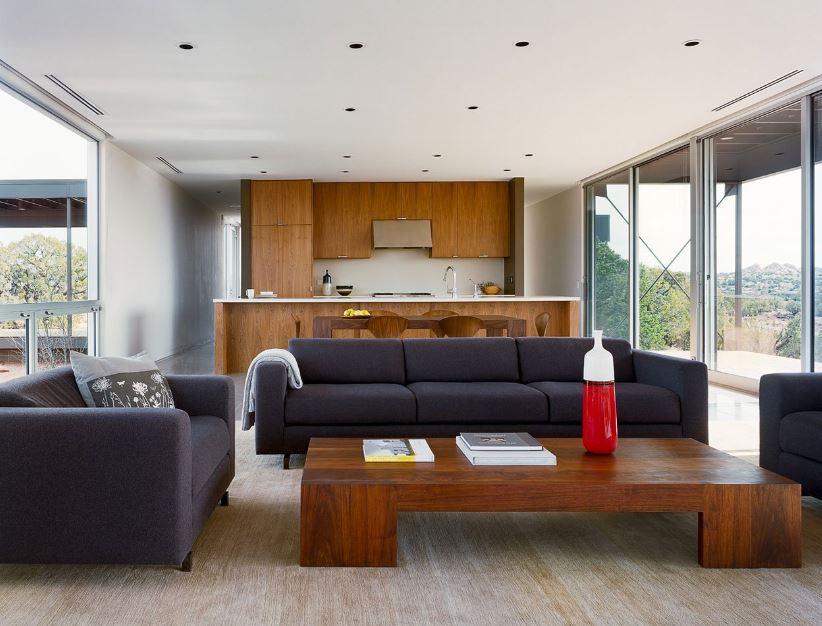 Moderna sala - comedor