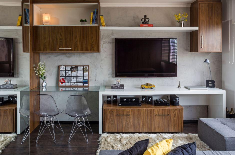 Peque os departamentos con dise o minimalista presenta for Decoracion moderna departamentos pequenos