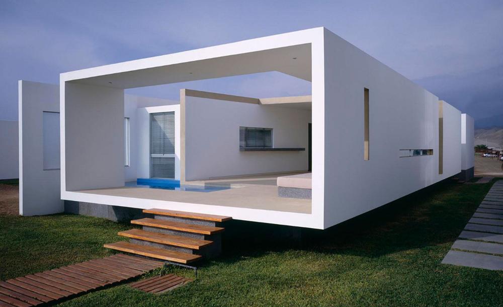 Casas de playa planos de arquitectura for Diseno de interiores de casas planos